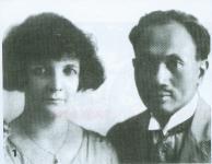 dr.Soetomo bersama sang istri none Belanda