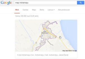 fungsi pencarian peta cepat google