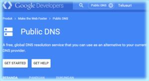 Google Public DNS (Propagasi domain)