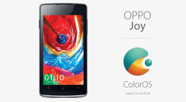 Joy 3, Smartphone Mid-Low dari Oppo