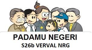 Cara Cetak S26b Verval NRG