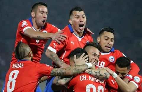 Cile Juara Piala Amerika 2015