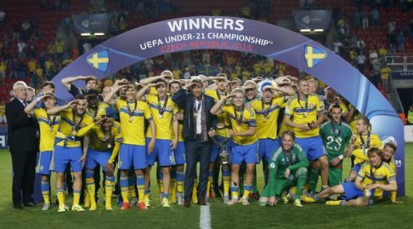 Swedia Kampiun Piala Eropa U-21