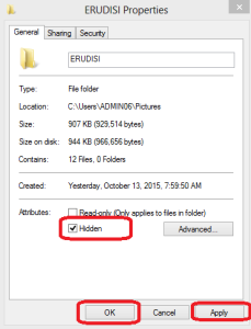 hidden Folder atau File