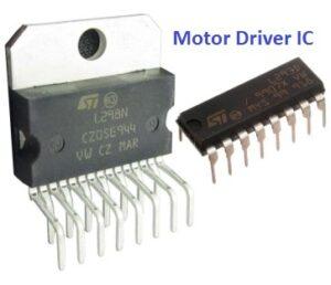rangkaian pengendali motor