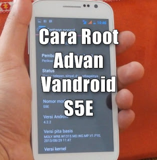 Root Advan Vandroid S5E
