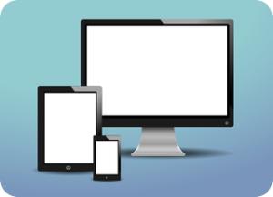 LCD ponsel