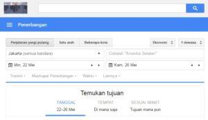 google penerbangan