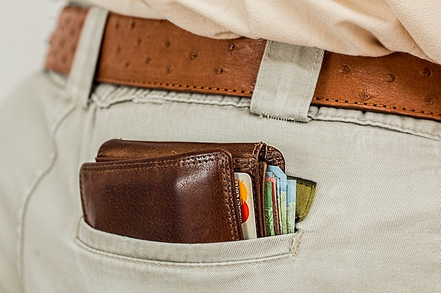 mencegah kehilangan dompet
