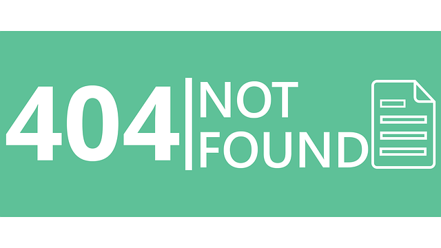 arti error 404
