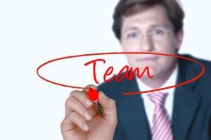 organisasi tim bisnis