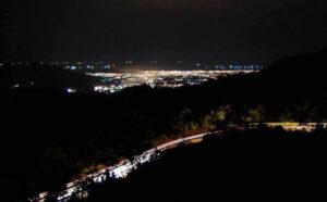 Panorama-Sitinjau-Lauik-Malam-Hari